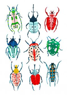 Beetle Illustration,  #Care #day #daycare #illustration