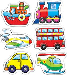 Orchard Toys Transport by Orchard Toys Transportation Preschool Activities, Toddler Learning Activities, Kids Learning, Activities For Kids, Crafts For Kids, Transportation Crafts, Craft Kids, Motor Activities, Orchard Toys