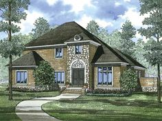 Eplans Colonial House Plan - Five Bedroom Colonial Revival - 3578 Square Feet and 5 Bedrooms from Eplans - House Plan Code HWEPL64242