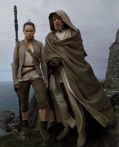 Rey and Luke #Star_Wars
