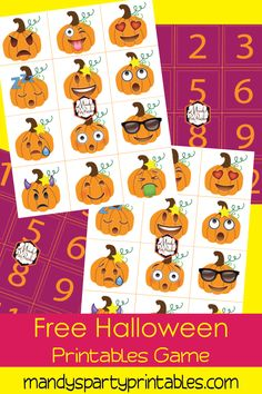 Printable Halloween Don't Eat Pete Game | Mandy's Party Printables