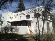 Taos Art Museum at Fechin House, Taos, New Mexico via @TaosArtMuseum www.taosartmuseum...