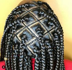 Black Girl Braids, Braided Hairstyles For Black Women, Braids For Black Hair, Girls Braids, Big Box Braids, Box Braids Styling, Braids Hairstyles Pictures, African Braids Hairstyles, Braid Hairstyles