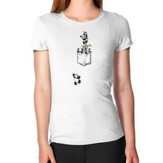 Pocket Pandas Women's T-Shirt