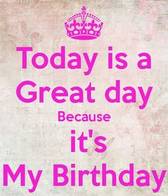 today is my birthday images samar mirza Birthday Wishes For Self, My Birthday Images, Happy Birthday To Me Quotes, Brother Birthday Quotes, Birthday Wishes Quotes, Happy Birthday Pictures, Happy Birthday Messages, Birthday Month Quotes, My Birthday Status