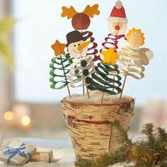 """Sachenmacher """"Wellenfiguren Weihnachten"""", Bastelset für 5 Stück online bestellen - JAKO-O"""