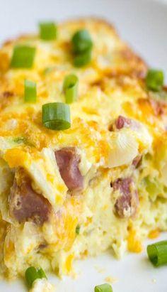 Oven Baked Denver Omelet