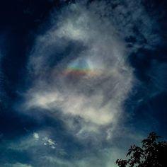 Overhead #rainbow #blessings