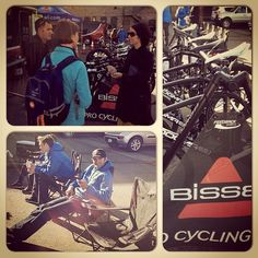 Got the chance to welcome the BISSELL Pro Cycling Team to Santa Rosa this morning in Railroad Square as they started their training camp. It is great to see the pros out on Sonoma County Roads again getting ready for the Amgen Tour of California
