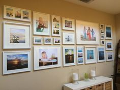 Tips for creating a great photo wall