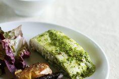 Рецепт: Запеченный Chimichurri Halibut