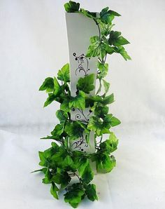 Yunko Grape Leaves Vine Artificial Greenery Chain Ivy Foliage Simulation Flowers Vine Grape Leaves Plants For Home Room Garden Wedding Garland Outside Decoration,Pack of 2,6.6Ft ** Startling big discounts available here : Artificial Plants Decor