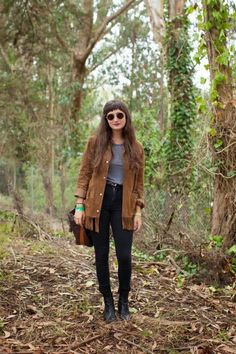 Street Scene Vintage: {How to Wear}: The Fringe Jacket