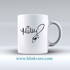 Miley Cyrus Signature Awesome Mug Ceramic Mug Ceramic Mug,Funny Coffee Cup,Chocolate Mug at low price