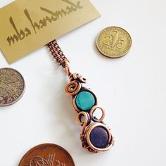 US $20.00 New without tags in Jewelry & Watches, Handcrafted, Artisan Jewelry, Necklaces & Pendants