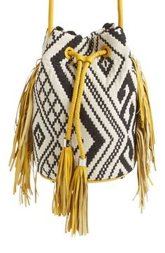 Sam Edelman Sam Edelman 'Pamela' Bucket Bag available at Free Crochet Bag, Potli Bags, Nordstrom, Bag Pattern Free, Boho Bags, Tapestry Crochet, Knitted Bags, Crochet Designs, Clutch Bag
