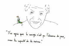 L'Agenda  d'Agathe  : Mandela, un homme et des mots inspirants pour tous...