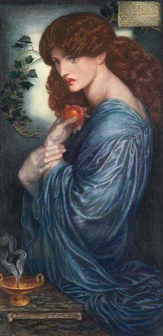 Dante Gabriel Rossetti - Pia Of Tolomei