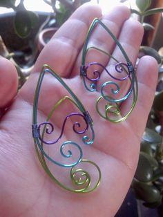 Wire Elf Ears                          https://www.etsy.com/listing/200146903/elf-ear-cuff-elf-ears-ear-cuff-elf-ear