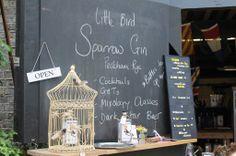Sparrow Gin cocktails, Maltby Street