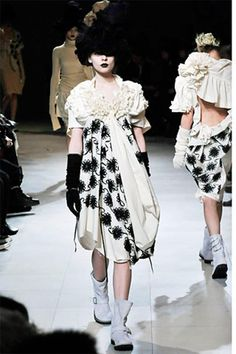 Tao Comme Des Garcons Runway Dress 2008 7