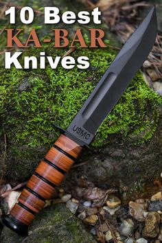 Teaming up with some of the best knife-making minds out there shows KA-BAR is committed to quality designs.Here are the 10 best KA-BAR knives right now. Ka Bar Knives, Cool Knives, Knives And Swords, Survival Tools, Survival Knife, Trench Knife, Knife Sharpening, Tactical Knives, Custom Knives