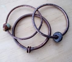 How to make a wire bangle/solder.