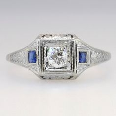 Exceptional Old European Cut Diamond & by YourJewelryFinder, $1275.00