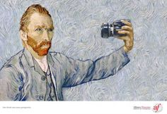 http://www.designer-daily.com/advertising-inspired-by-famous-painters-19619