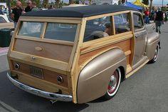 1941 Ford woodie - custom - bronze -
