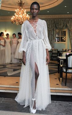 M'O Bridal & Wedding: The Riccardo Gown from Delphine Manivet Bridal SS17 trunkshow