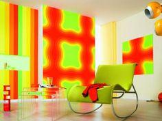 Colores intensos en la decoración