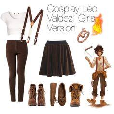 Cosplay Leo Valdez: Girls Version need it!