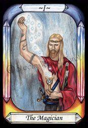 The Magician - Steele Wizard Tarot