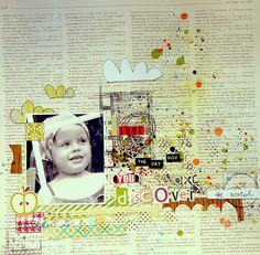#papercraft #scrapbook #layout.