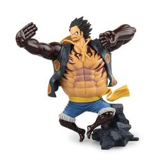 **New** Manga BRICK Custom One Piece Kimono Luffy Lego Minifigure