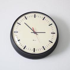 Modern simplex clock, $110
