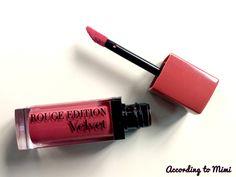 Bourjois Rouge Edition Velvet liquid lipstick in 12 Bea brun