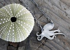 octopus necklace $75