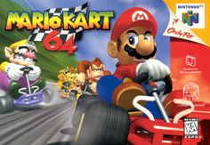 Mario Kart 64 is a racing game developed and published by Nintendo EAD for the Nintendo It is the second installment in the Mario Kart series. It was released in 1996 in Japan and in 1997 in North America and Europe. In January Mario Kart 6 Mario Kart 64, Mario E Luigi, Super Mario Kart, Donkey Kong, Nintendo 64 Games, Super Nintendo, Nintendo N64, Classic Video Games, Retro Video Games