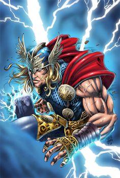 Thor artwork by ashasylum  (ashasylum, (2012). Inspiring Collection of Mighty Thor Artworks. Available: http://naldzgraphics.net/inspirations/inspiring-collection-of-mighty-thor-artworks/. Last accessed 6th Nov 2012.)