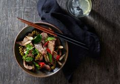 Pad Cha Beef (Stir Fried Beef in Fresh Chilli, Baby Rhizome and Young Peppercorn) - Asian Inspirations