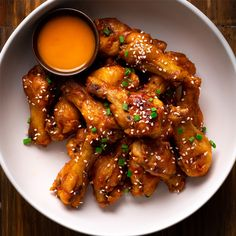 Oven Baked Chili Ginger Wings Marion S Kitchen Yum In 2019 Baked Chicken Wings, Oven Baked Chicken, Canned Chicken, Chicken Wing Recipes, Chicken Breasts, Fried Chicken, Asian Turkey Meatballs, Easy Eat, Fries In The Oven