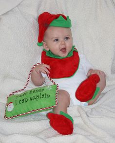 Santa, I can explain!