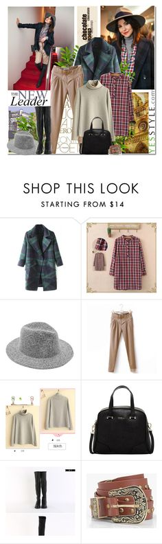 """""""YESSTYLE"""" by anastasia-ana ❤ liked on Polyvore featuring Toji, Fairyland, Furla, Morococo, Boohoo, women's clothing, women, female, woman and misses"""