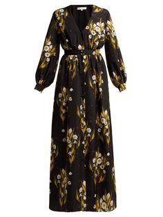 0eef44ba Francesca floral-print crepe dress | Borgo De Nor | MATCHESFASHION.COM UK