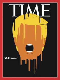 #MagLove 19 August 2016 — the best magazine covers this week — TIME US, 22 August 2016: Donald Trump.