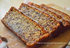 Dapur Mama Aisyah: Moist Banana Cake (no mixer!)/ Bolu Pisang Moist T...
