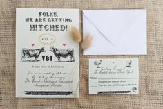 "I think the ""Folks, We are getting hitched!"" part is funny!! Not crazy about the love at first moo...lol"