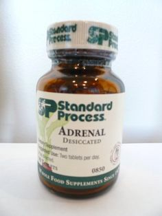 Standard Process Adrenal Desiccated 90 T